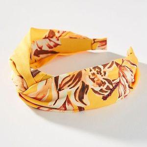 NWT Anthropologie floral headband